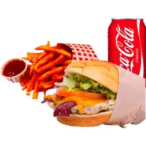 BCR burger combo