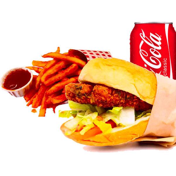 Buffalo sandwich combo
