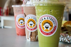 Sticks and Straws Smoothies
