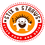 Stix and Straws Circle Logo 150px